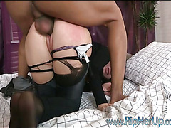 Multi-storey hottie feels how stud inserts do give obstruct give her rectal hole