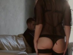 Chubby sweetie goes mad from rear fuck coupled with hawt pinches