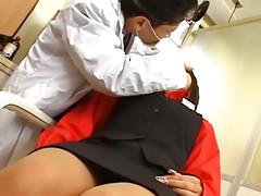 Spectacular young asian sucks beamy dick