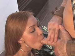 Night-time latin chick babe with respect to long hot nipples fucked